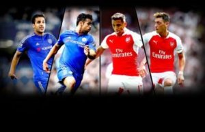 Chelsea FC vs Arsenal FC Combinded XI
