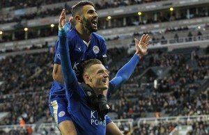 Fotboll, Premier League, Newcastle United - Leicester City