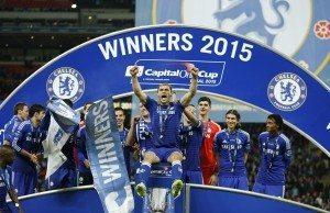 Fotboll, Final, Engelska Ligacupen, Chelsea - Tottenham Hotspur