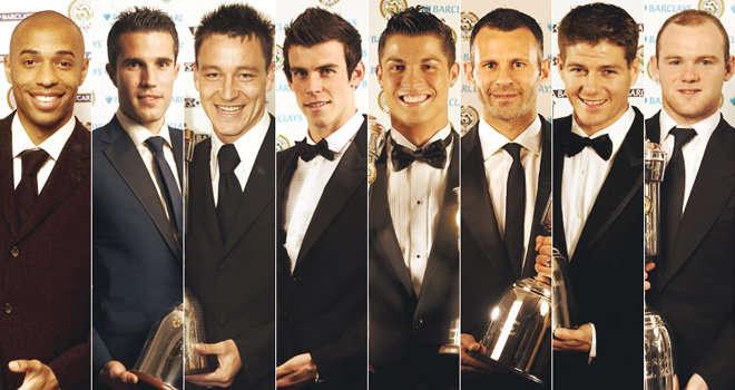PFA Player of the Year Award Winners List