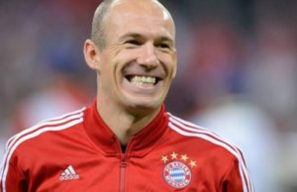 Fastest Football Players in the World Arjen Robben is the fastest