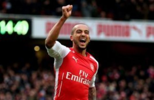 Theo Walcott is one of the Top 10 Fastest Football Players in the World