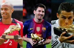 European Golden Boot Winners - all time past winners