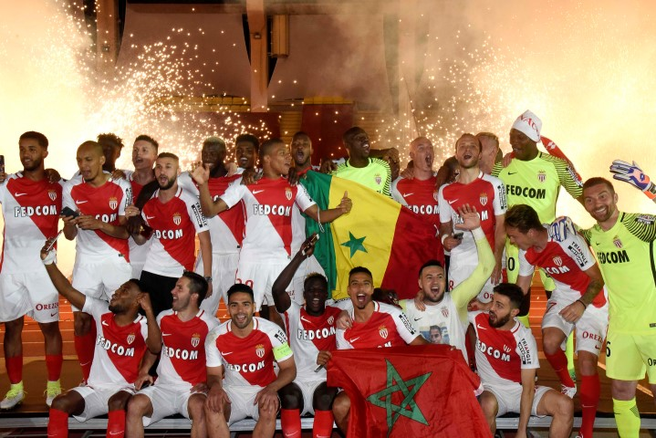 French Ligue 1 Past Winners AS Monaco