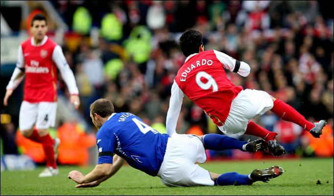 Stunning Premier League moments eduardo leg break