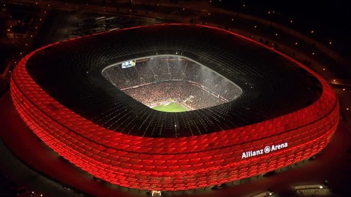 Most profitable stadiums in Europe Allianz arena
