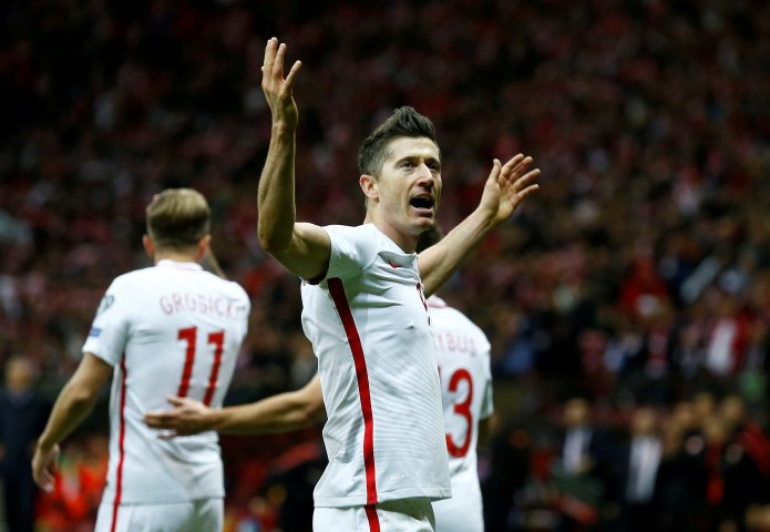 WC Qualifiers Europe Top Scorers 2018 Robert Lewandowski