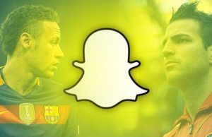 Popular Footballers Available on Snapchat