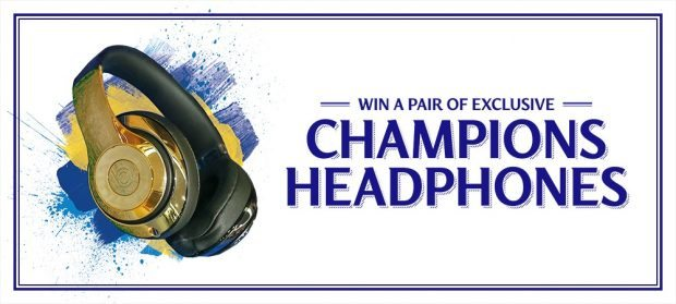 How To Win a pair of exclusive Beats 'Chelsea champions edition' gold headphones
