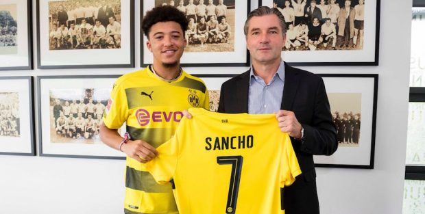 10 Upcoming Talents To Watch In The Champions League 2017 2018 Sancho