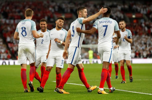 England squad against Slovenia and Lithuania, final World Cup qualifiers 2017