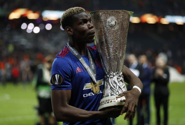 Paul Pogba admits he used to support Manchester United's rivals