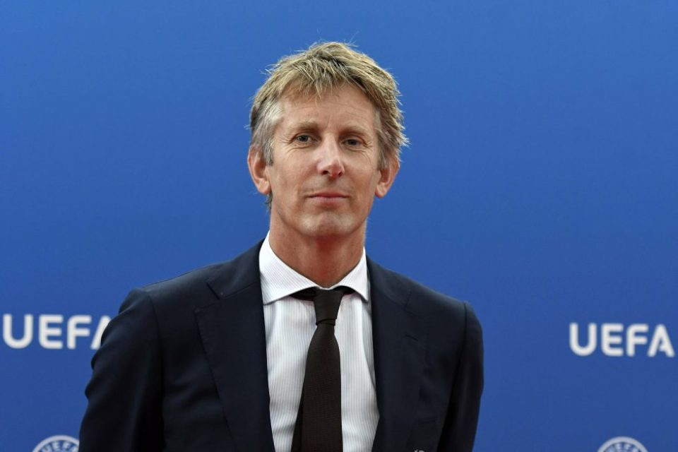 Champions League winner Edwin Van Der Sar