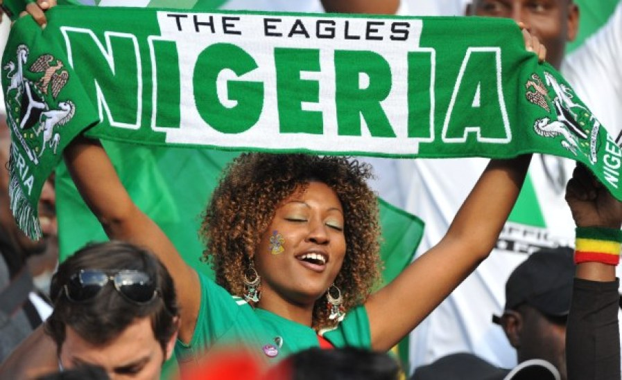 Images, Pictures and Photos of Beautiful, Sexy and Hot Nigerian girls - Nigeria Female Fans In World Cup 2018