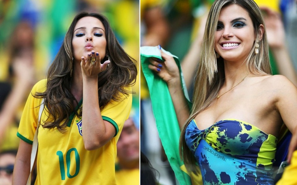 Photos of hot female fans in World Cup 2018 Brazil