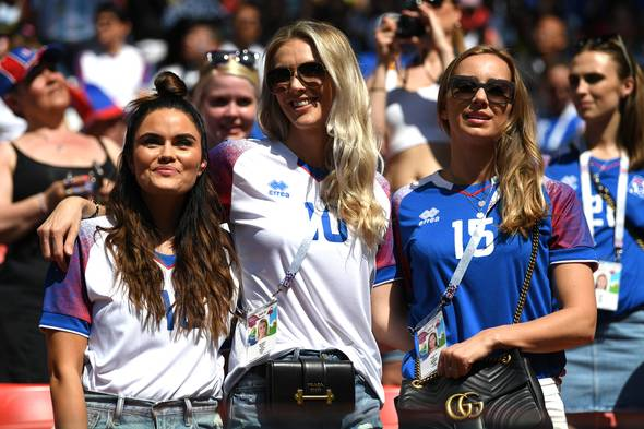 Photos of hot female fans in World Cup 2018 Iceland