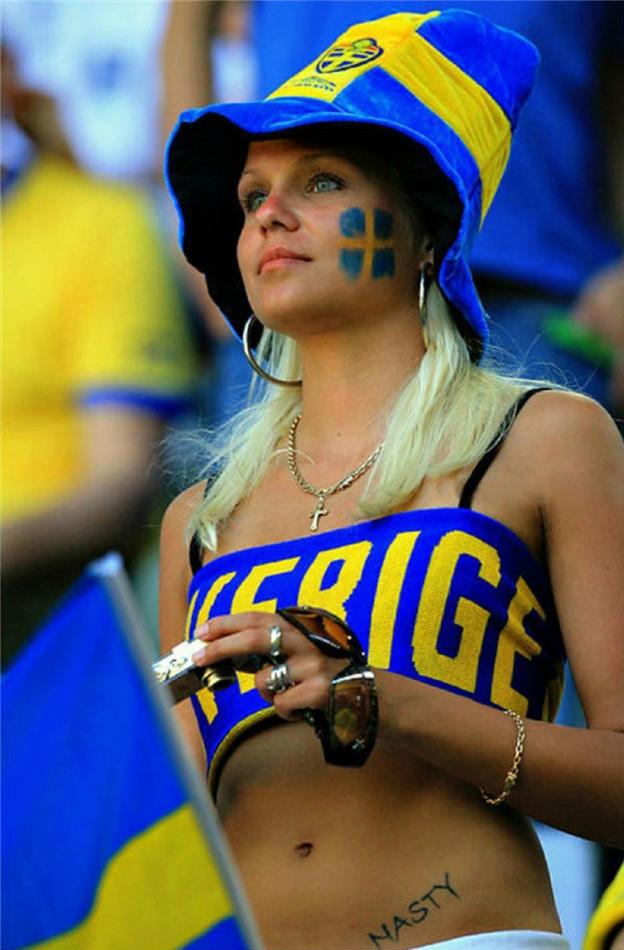 Top hottest fans World Cup 2014-2018 Sweden