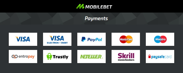 Mobilebet Withdrawals and deposit
