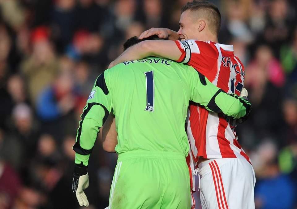 Fastest goal in the Premier League - Asmir Begovic- Stoke 1-1 Southampton - 2013-11-02
