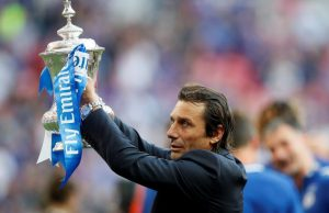 AS Roma Hold Initial Talks With Antonio Conte To Be Their Manager