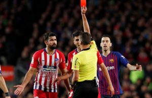 Carded Costa for abusing my mother, says referee Gil Manzano