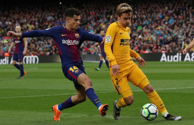 Antoine Griezmann Won't Force Coutinho Out Of Barcelona: Agent