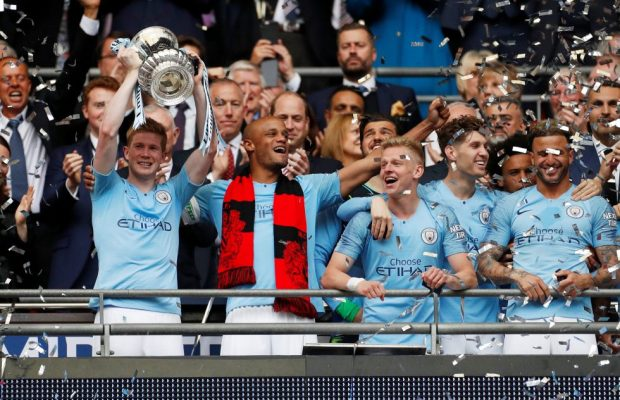 Kevin De Bruyne Is Relishing Manchester City's Domestic Treble