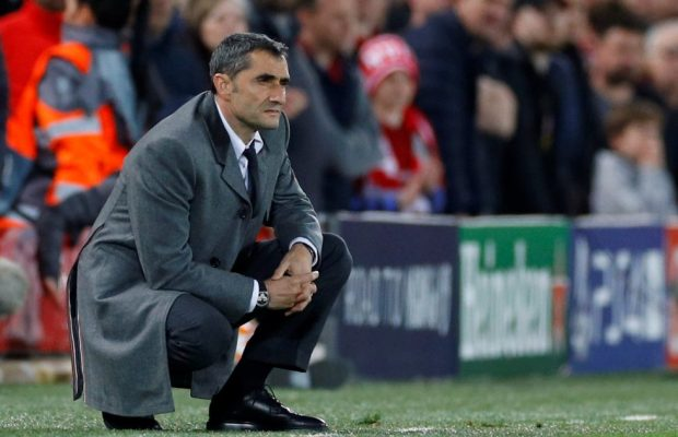 Valverde talks about his job security at Barcelona