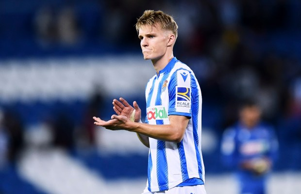 Real Madrid Open To Recalling Martin Odegaard