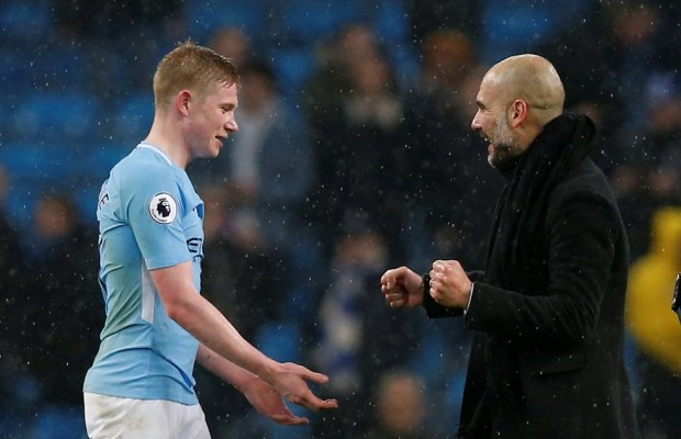 Kevin De Bruyne Wants Teammates To Believe In Guardiola's Tactics In Title Chase