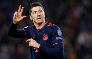 Bayern Munich striker Robert Lewandowski to miss one month of action