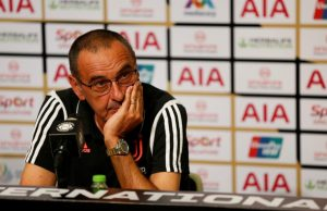Maurizio Sarri Admits Juventus 'Growth Has Stalled'