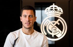 Real Madrid's Eden Hazard returns on the pitch for first time since November