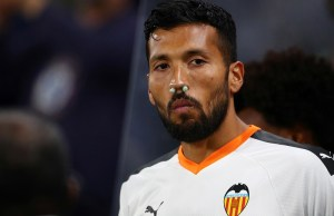 La Liga defender Garay first player to be tested positive in Spain