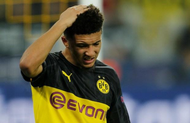 Jadon Sancho Likely To Leave Borussia Dortmund If Asking Price Is Met