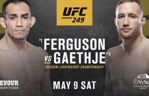 UFC 249 Fight Card Tony Ferguson vs Justin Gaethje Main Event