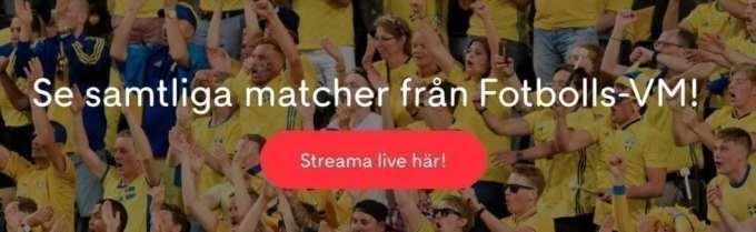 Sverige Colombia stream
