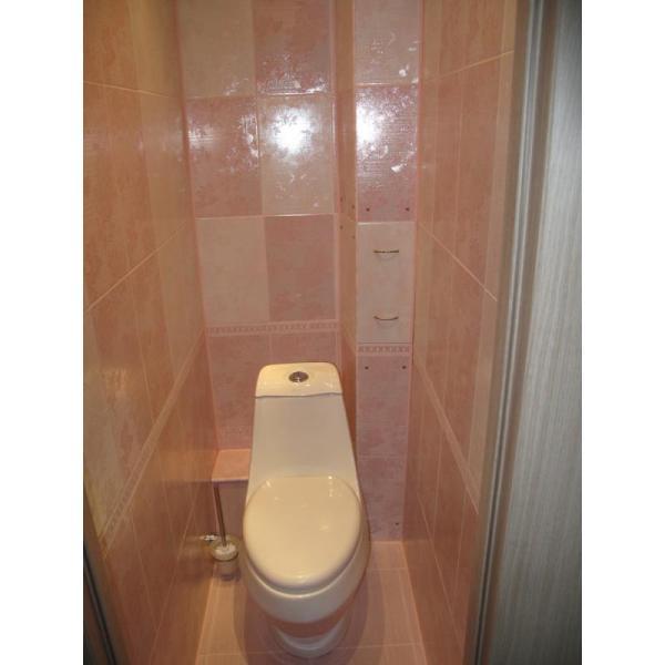 Отделка стен панелями в туалете: практично, надежно и ...