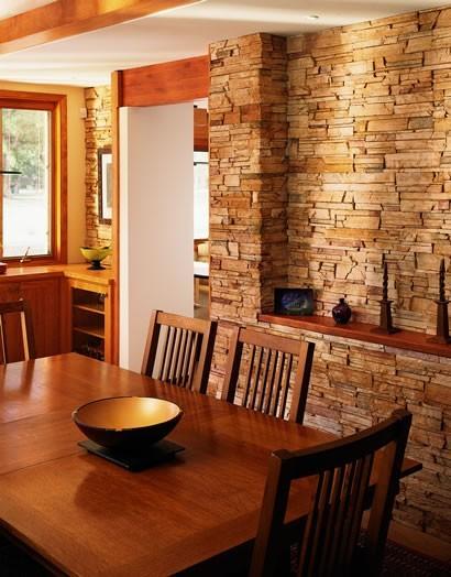 Отделка стен здания натуральным камнем: описание, советы ...