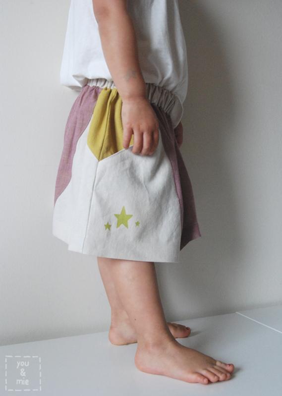Angles Colorblock Skirt