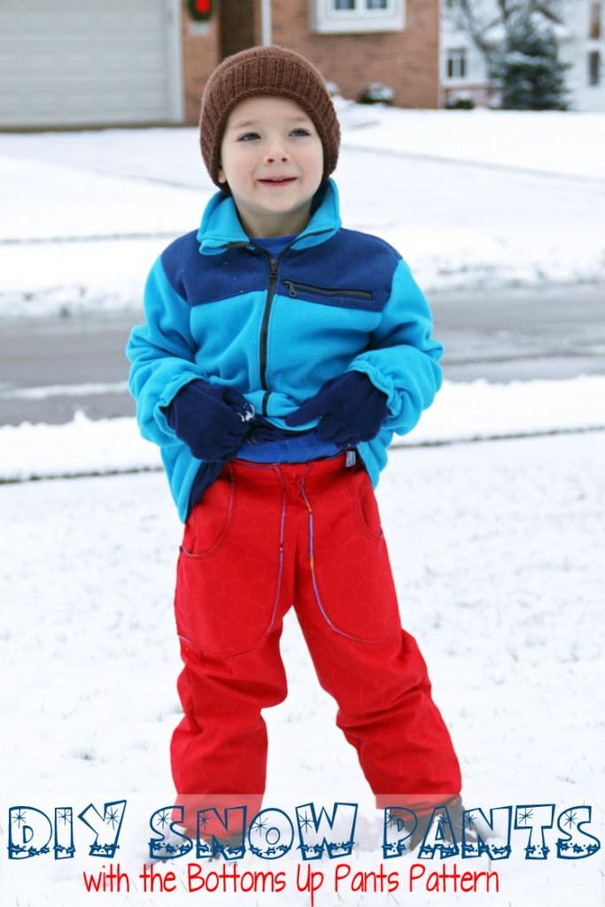 DIY Snow Pants