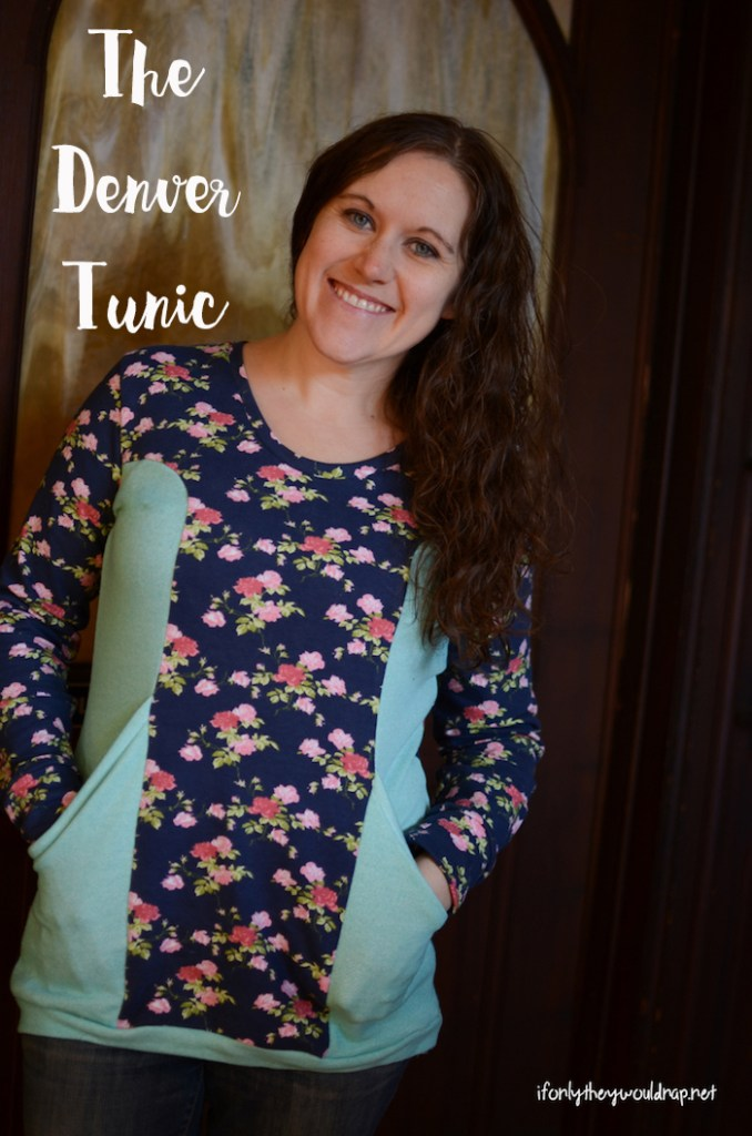 Denver Tunic Sewn by If Only They Would Nap