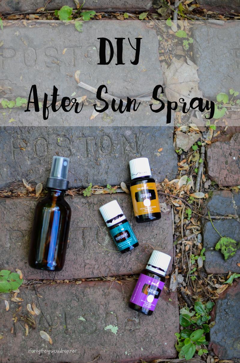 DIY After Sun Spray Recipe