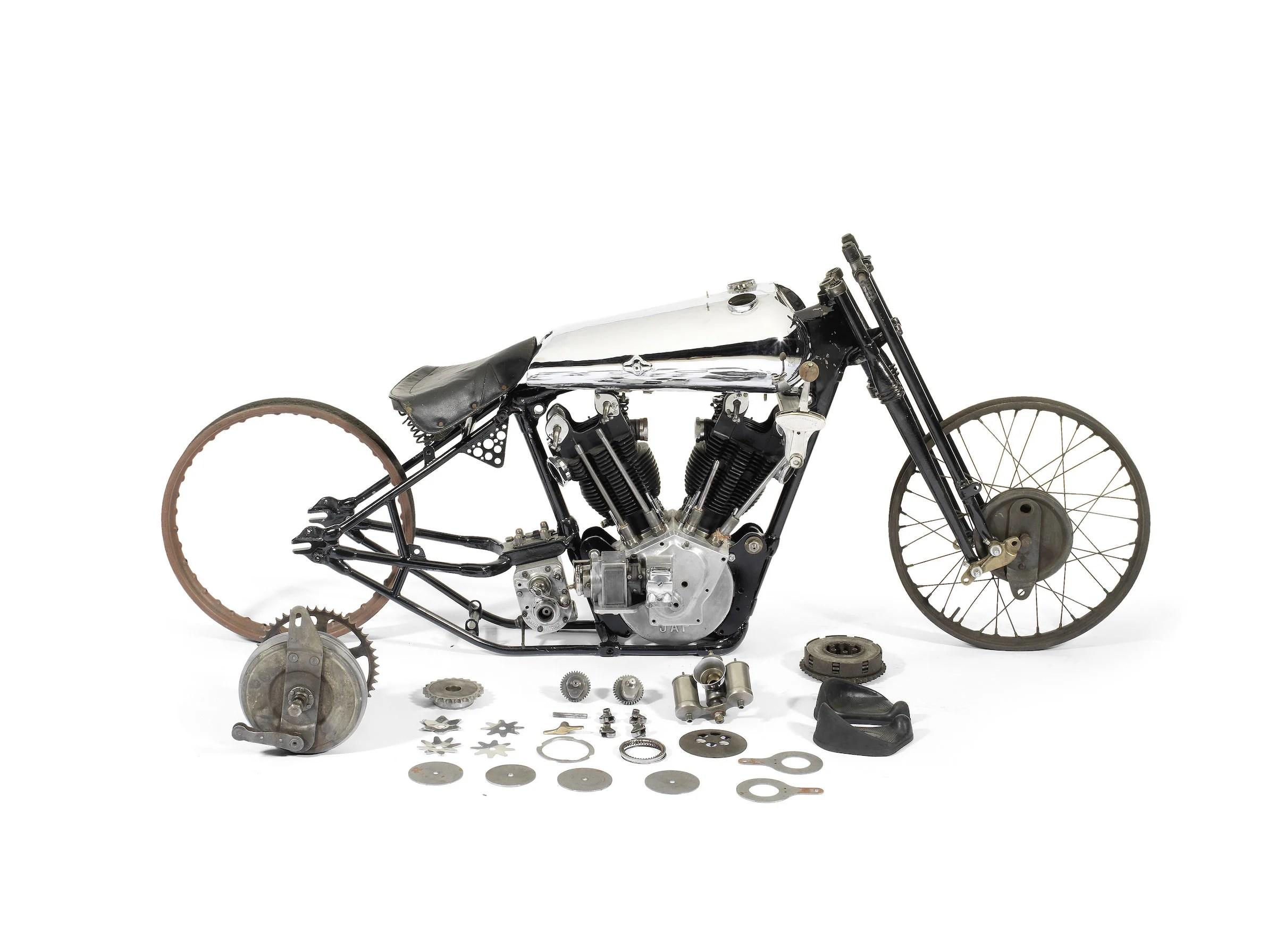 100 000 Project Bike Brough Superior Ss100 Pendine