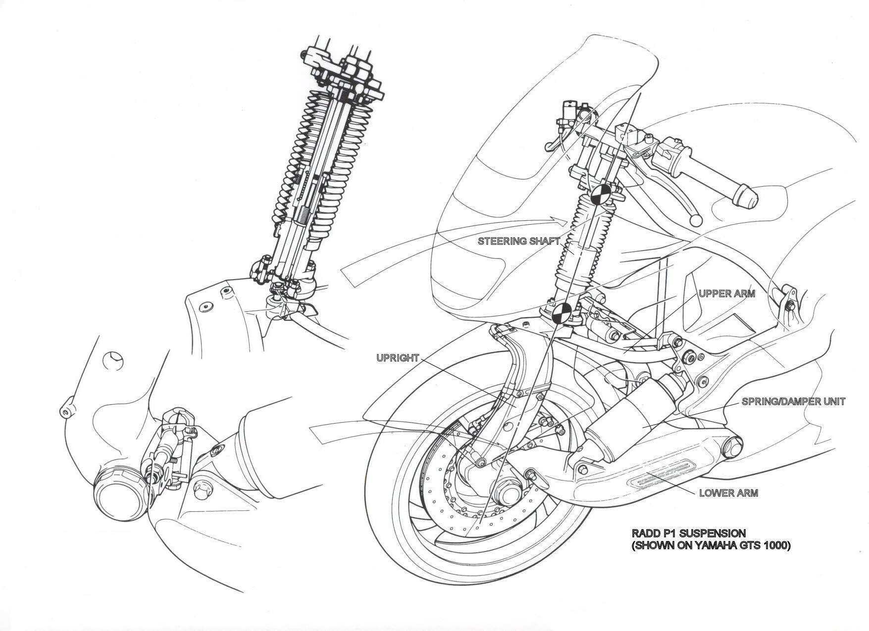 The Jsk Moto Co Custom Yamaha Gts