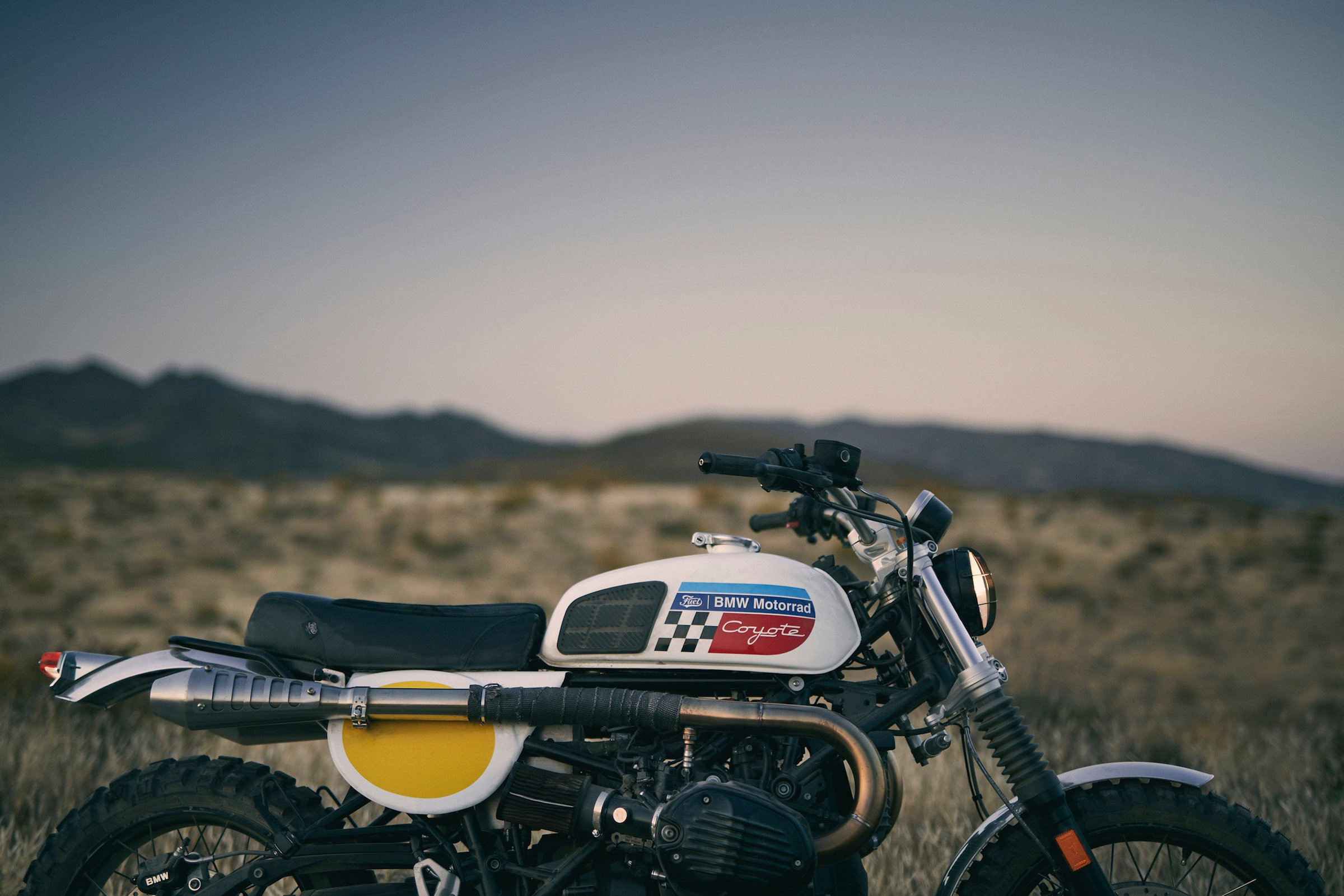 The Fuel Motorcycles Coyote BMW R NineT Urban GS