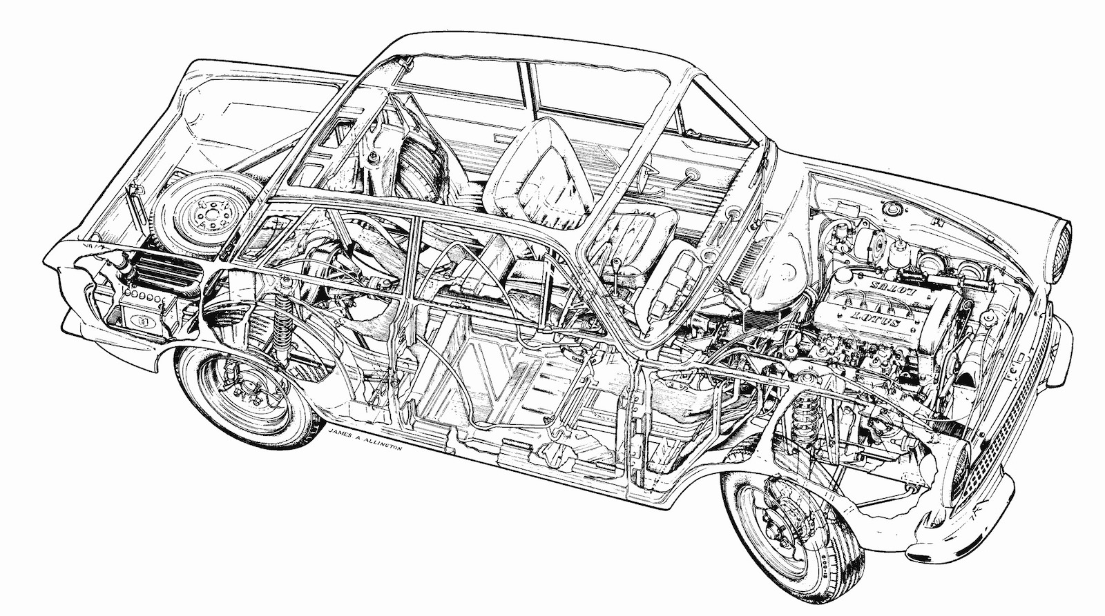 Mystery Solved The Lost Alan Mann Racing Lotus Cortina Mk1