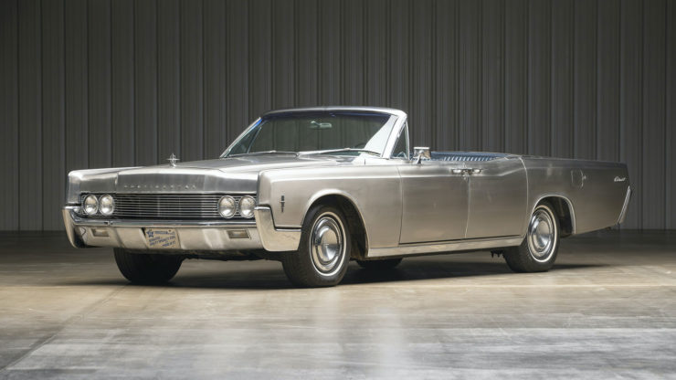 Stainless Steel 1967 Lincoln Continental
