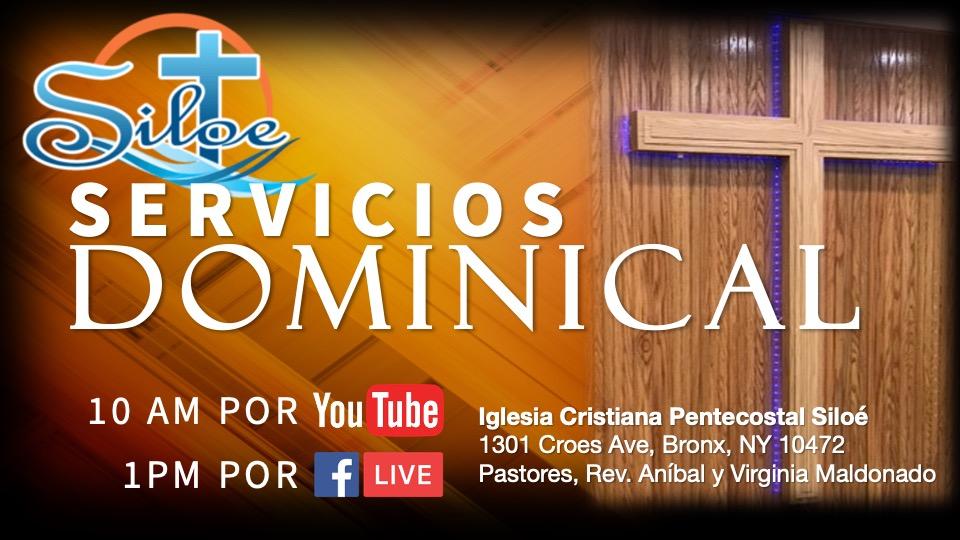 Sunday Services 11.2020