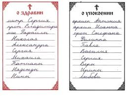 Commemoration list